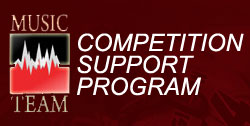 Music-Team Competition Support Program